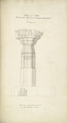 Pillar from Vijayawada. 21-24 August 1815